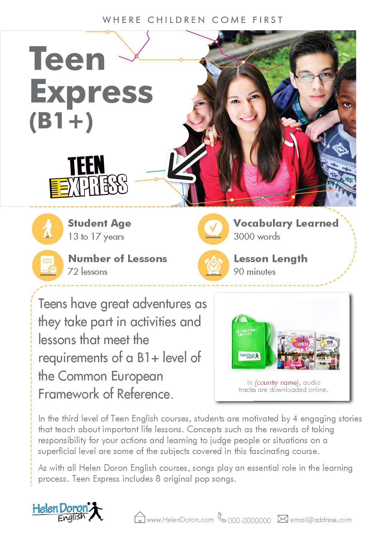 Descargar - Teen Express (B1+)