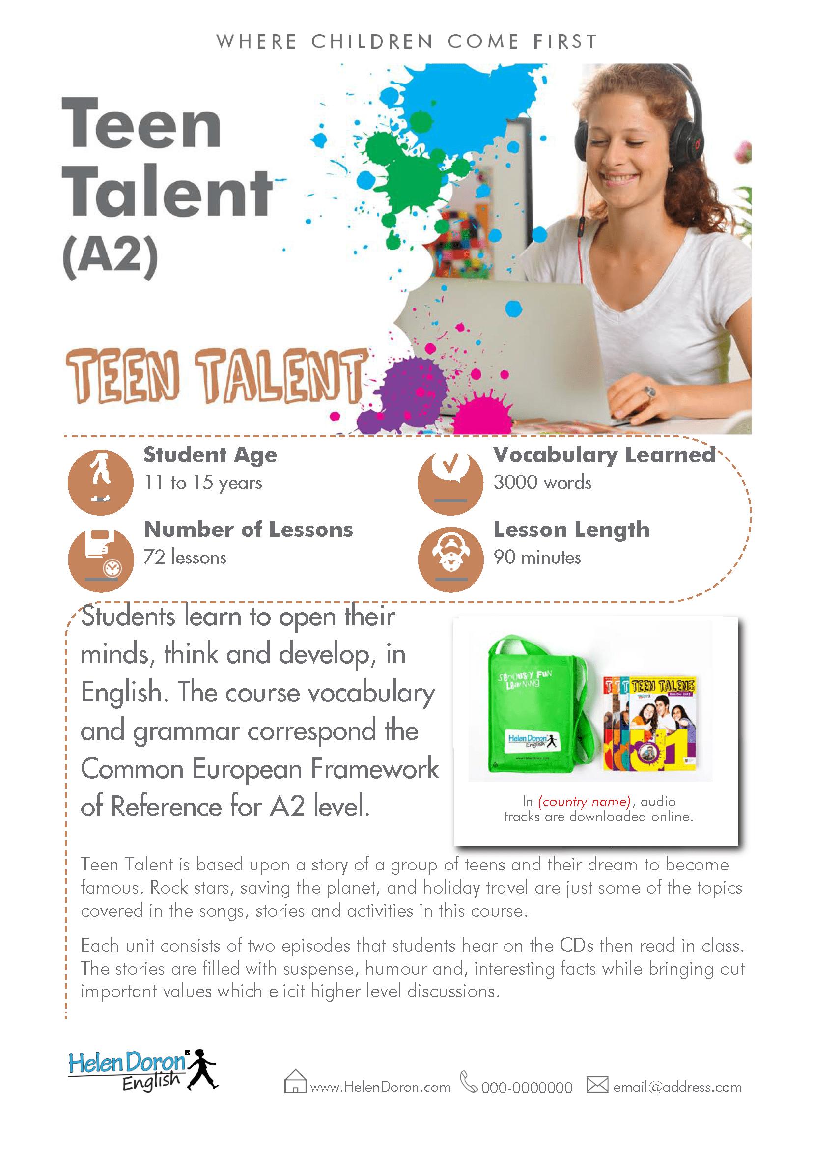 Descargar - Teen Talent (A2)